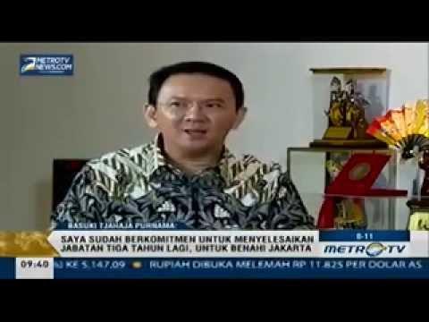 Wawancara Full Pengakuan Ahok Keluar Dari Partai Gerindra, 11 September 2014