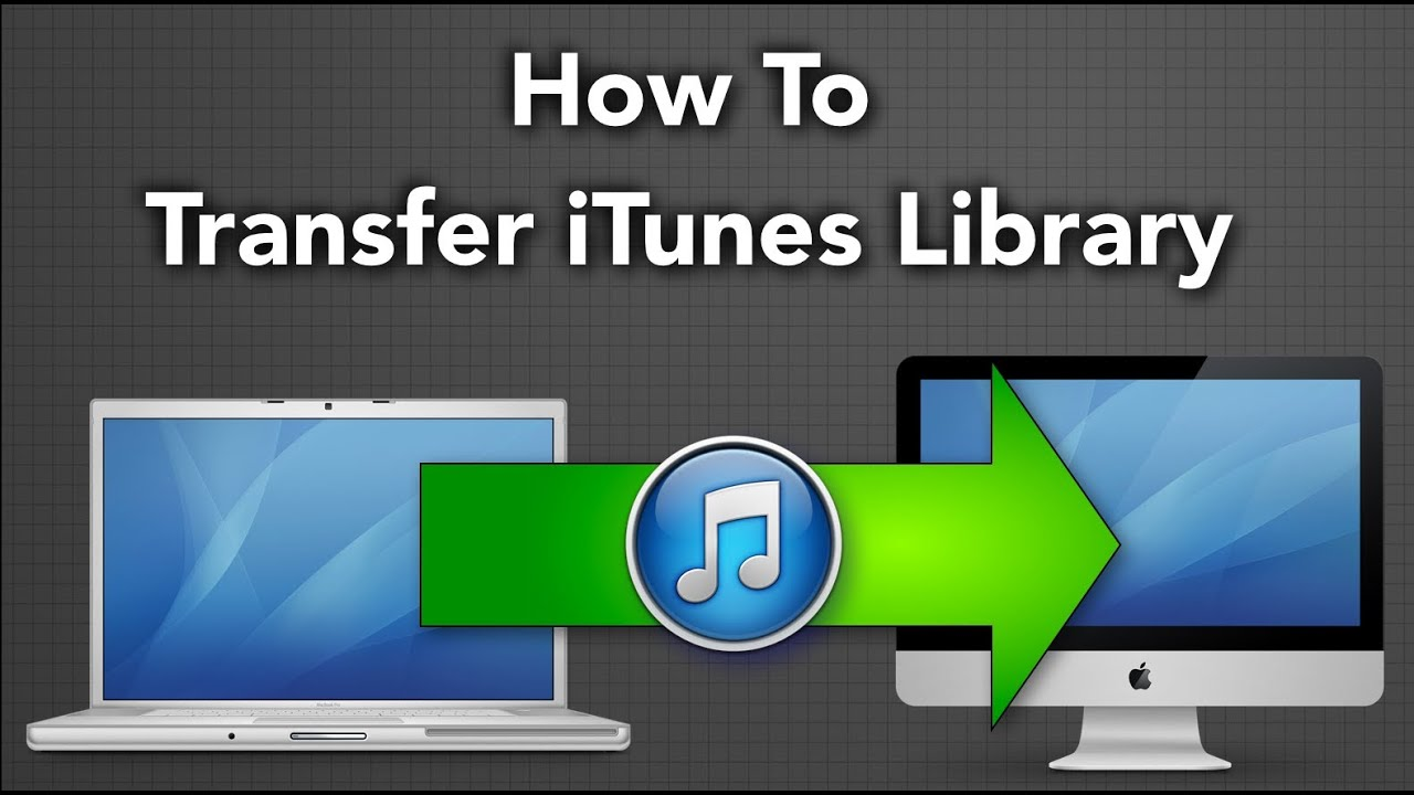 How to transfer music from one iTunes Library to another ...