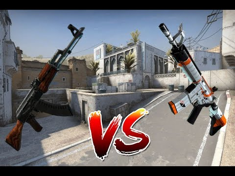 AK47   VS   M4A4 [CS:GO]