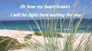 Right Here Waiting For You (piano) With Lyrics