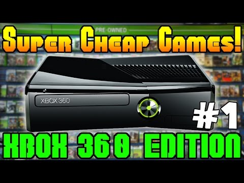 SUPER CHEAP XBOX 360 GAMES  Episode #1