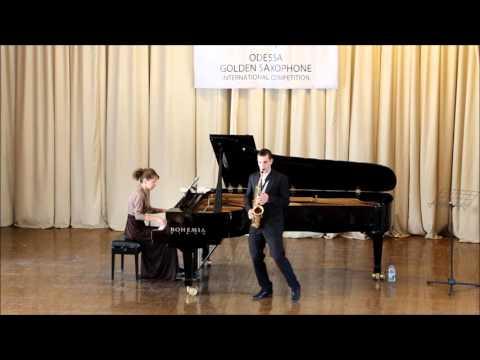 Golden Saxophone 2015 – Philip Attard – Darius Milhaud, Scaramouche III