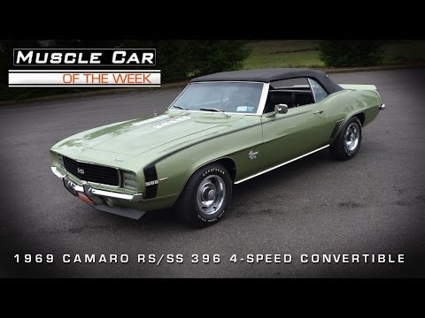 Muscle Car Of The Week Video #33: 1969 Camaro RS/SS396 Convertible