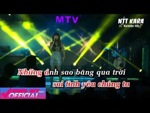 [Karaoke] Đêm Trăng Tình Yêu Remix - Khởi My (Demo)