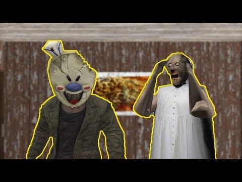 Granny vs Ice Scream vs Mr Meat funny animation part 57