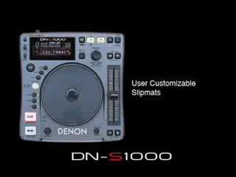 Denon DN-S1000 DJ CD Player