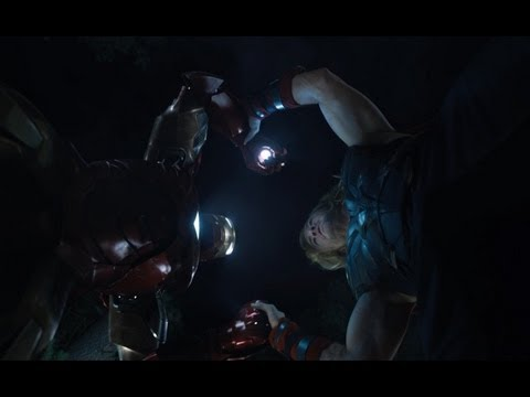 Marvel's Avengers Assemble - Iron Man vs Thor - Film Clip - Official | HD