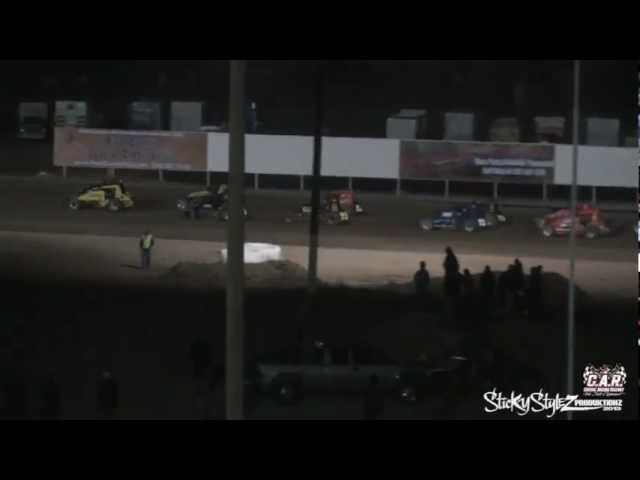 3-23-13 USAC Sprint main at  Central Arizona Raceway