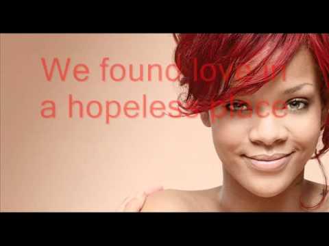Rihanna - We found love (paroles + traduction)