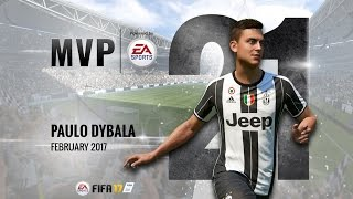 Paulo Dybala, February MVP powered by EA!