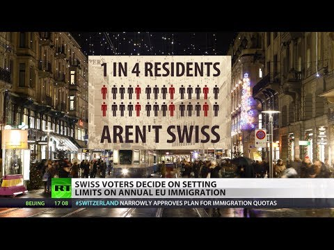 Tight 'yes': Swiss vote to limit immigration from EU