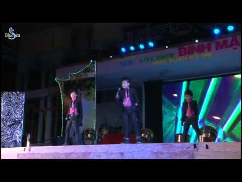 [HD] HKT M The Five hát ở Liveshow Bình Mập