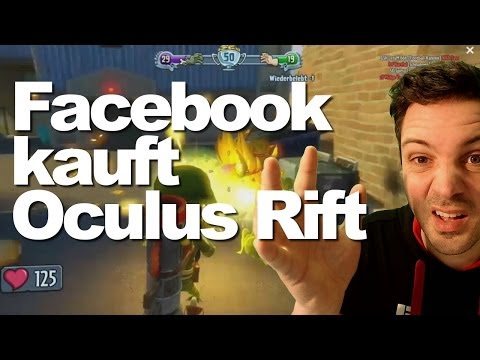 Facebook kauft Oculus Rift