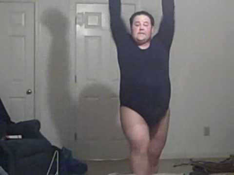 Fat Man Dancing To Beyonce 100
