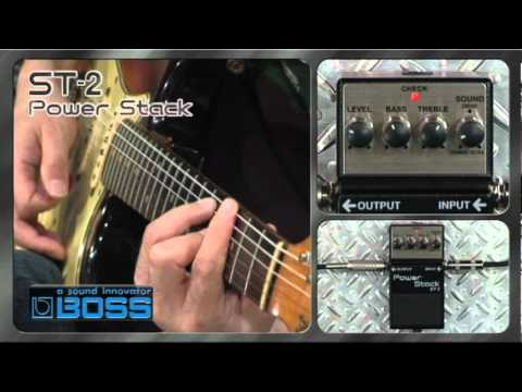 Boss ST2 Power Stack Drive Guitar FX Stompbox