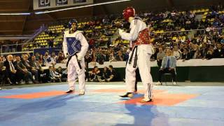 Dutch Open 2012 -80KG Final Aaron Cook VS Sebastian Crismanich