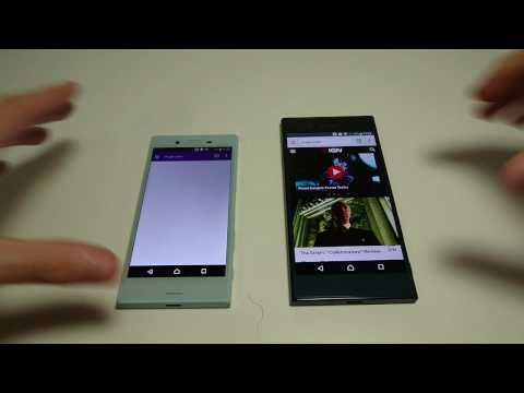 Xperia XZ vs Xperia X Compact Speed Test, Multitasking, Camera Speed