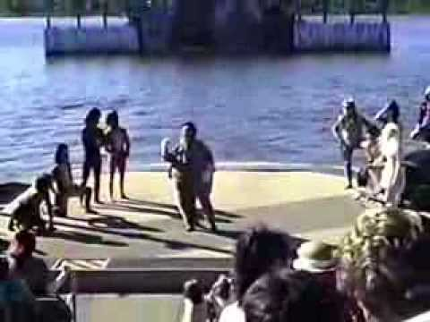 1989 Sea World Ohio Cats Water Ski Show