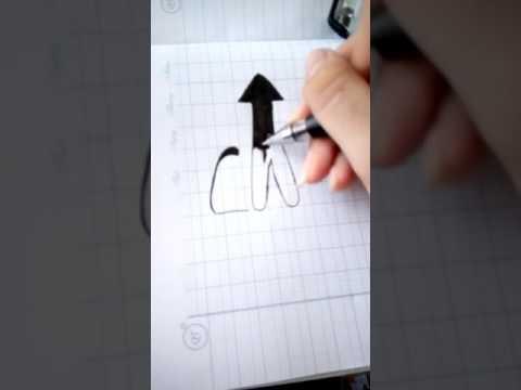 Cách vẽ chữ Cha Mẹ đẹp