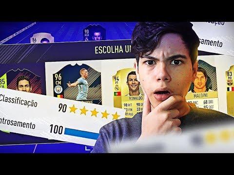 FIFA 18 | EM BUSCA DO FUT DRAFT 190 CHEIO DE TOTY E ICON!