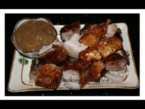 LECHON LIEMPO (OVEN ROASTED PORK BELLY) - YouTube
