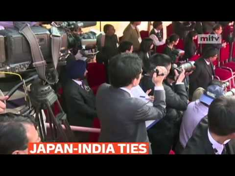mitv - Japanese Emperor Akihito met Indian PM Manmohan Singh for bilateral ties in New Delhi