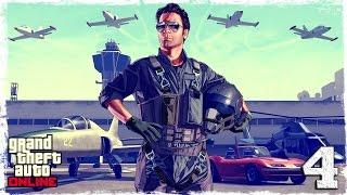 [PS4] GTA ONLINE.#4: Угоняем самолет.