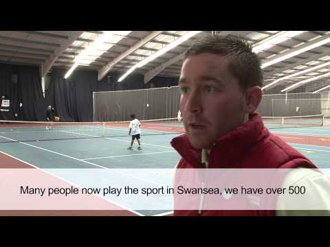 Swansea Tennis Centre - Social Enterprise of the Year Finalist 2013