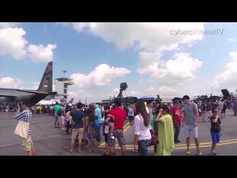 Up, Up and Away! - Singapore Airshow 2014