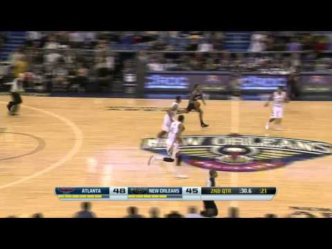 Atlanta Hawks vs New Orleans Pelicans | February 5, 2014 | NBA 2013-14 Season