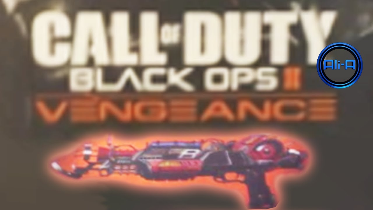 Black Ops 2 Vengeance Map Pack 3 New Ray Gun Mark 2