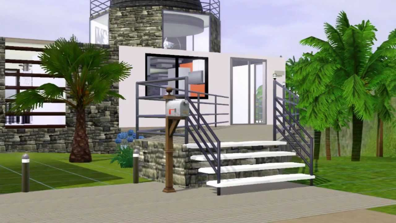 The Sims 3 Old House Reconstruction Interior HD YouTube