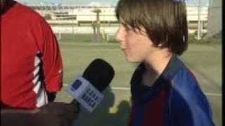Lionel Messi En La Cantera Del Fc Barcelona