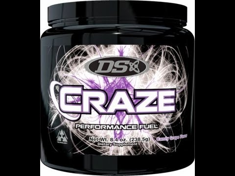 Driven Sports CRAZE Pre-Workout Supplement Review - 10/10