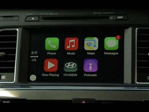 Apple Car Play in the 2015 Hyundai Sonata