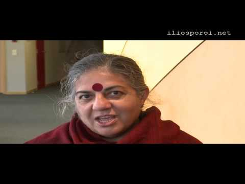 Every Crisis is an Opportunity to Create - Dr Vandana Shiva for Greece