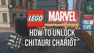 How To Unlock Chitauri Chariot LEGO Marvel Super Heroes