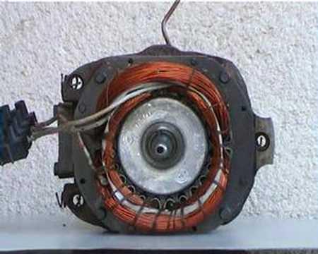 Motor monofásico con dev auxiliar