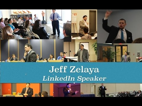 LinkedIn Speaker & Marketing Consultant: Jeff Zelaya