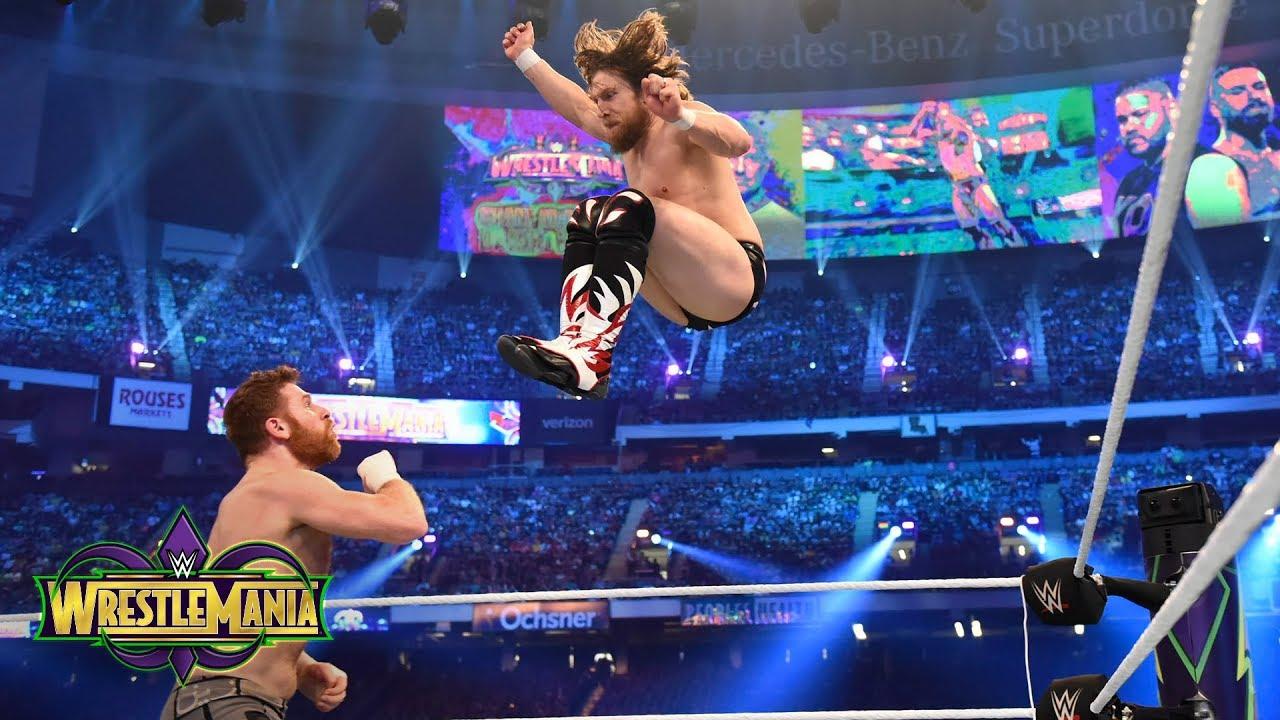 Video: WrestleMania 34...