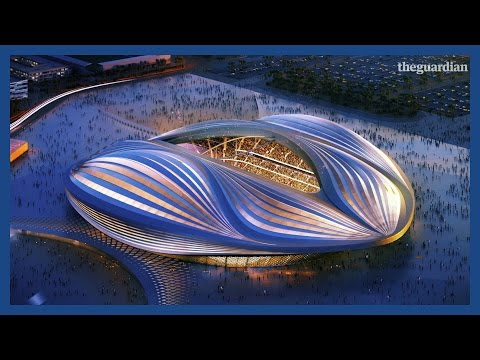 Qatar World Cup 2022 stadium workers Under Construction