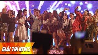 [Live] Tóc Tiên, Noo Phước Thịnh, T - Ara, ... hoà cùng fan hát Happy New Year