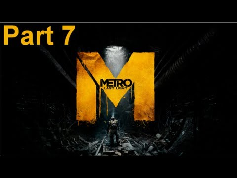 Metro Last Light - Walkthrough Part 7 Shrimps? That Can't Be That Bad Right?