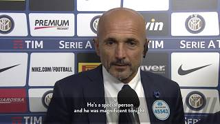 Inter 3-2 MIlan, post match reaction from Luciano Spalletti