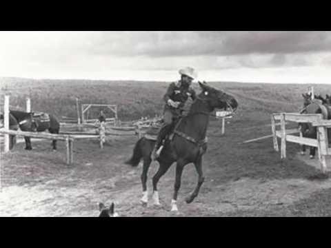MICHEL GRÉGOIRE, Hommage à un Cow boy