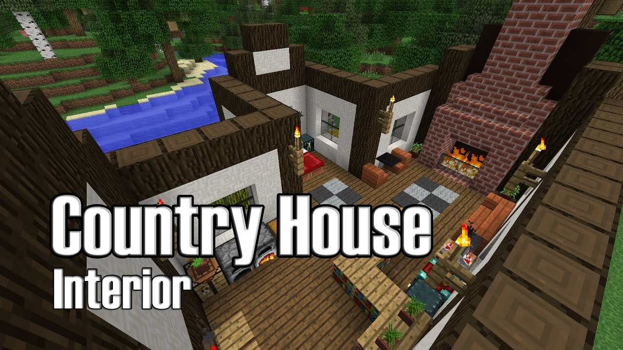 Minecraft Modern House Interior Design. On Minecraft Interior Designs