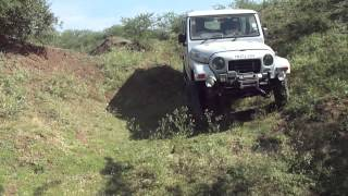 Armada Grand 4WD on OTR ground