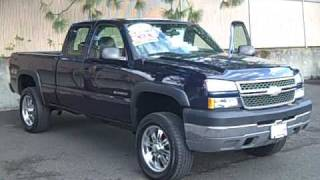 2005 Chevrolet Silverado 2500 *Vortec 8100, Tinted Windows