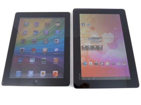 Asus Transformer Prime vs Apple iPad 2