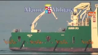 MARE NOSTRUM 4 MILA MIGRANTI SOCCORSI NEL WEEKEND LE IMMAGINI 01-09-14